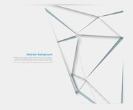 Vector polygon pattern try 8.09.13. Vector wed explosion. color elemet and broken Vector Illustration