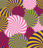 Vector Pop Art Abstract Pattern Background Illustration Royalty-vrije Stock Fotografie