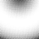 Vector abstract dotted halftone texture. Vector pop art dotted halftone template background. Abstract pattern with dots Stock Image