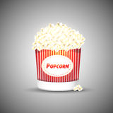 Vector popcorn Stock Photo