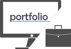 Vector - portfolio Stock Photos