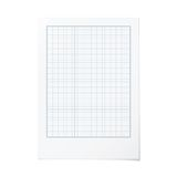 Vector portrait orientation engineering graph paper Royalty Free Stock Photos