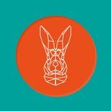 Vector portrait of rabbit Stock Photo