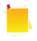 Vector post-it Stock Images