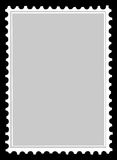 Vector postage stamps Stock Photography