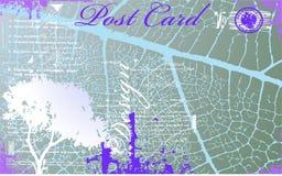 Vector postcard Royalty Free Stock Photos