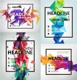 Vector Poster, Banner, Flyer, Cover, Brochure vector illustration