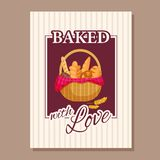 Bakery. Typography. vector illustration