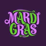 Vector poster for Mardi Gras Carnival stock photo