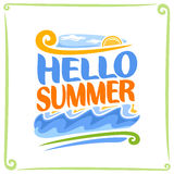 Vector poster for Summer Stock Images