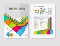 Vector Poster Templates  for Business Royalty Free Stock Images