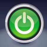 Vector power button Royalty Free Stock Photo