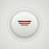Vector power button design Royalty Free Stock Images