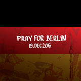 Vector Pray for Berlin concept . Stock Photo
