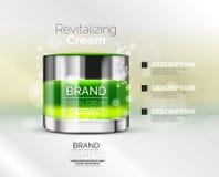 Vector premium cream ads Stock Photo