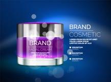 Vector premium cream ads Stock Images