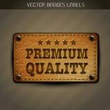 Vector premium label Stock Image