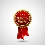 Vector Premium Quality Badge Label Royalty Free Stock Photo