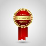 Vector Premium Quality Badge Label Stock Image