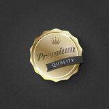 Vector premium sticker Royalty Free Stock Images