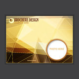 Vector presentation of business poster Royalty Free Stock Photography