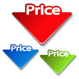 vector price label Royalty Free Stock Image