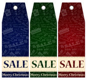 Vector Price label, tag. Winter sale. Eps 10. Royalty Free Stock Photos