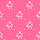 Vector princess seamless background Royalty Free Stock Photography