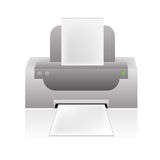 Vector printer icon stock illustration