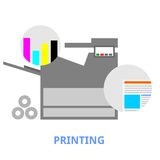 Vector - printing Stock Images