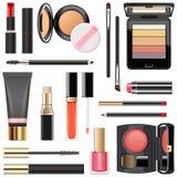 Vector Professional Makeup Cosmetics Stock Illustration