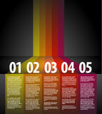 Vector progress background Stock Photography