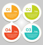 Vector Progress Background / Product choice or Version. Eps 10 Royalty Free Stock Photography