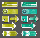 Vector Progress Background / Product choice or Version Stock Images
