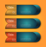 Vector Progress Background / Product choice or Version Royalty Free Stock Images