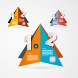 Vector Progress Steps for Tutorial, Infographics Stock Image