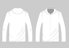 Vector pullover templates Royalty Free Stock Photos