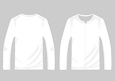 Vector pullover templates Royalty Free Stock Image