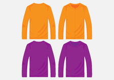 Vector pullover templates Stock Photo