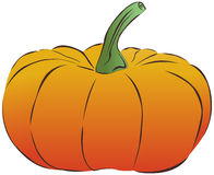 Vector pumpkin Stock Photography