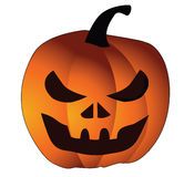 Vector pumpkin. Halloween Stock Photography
