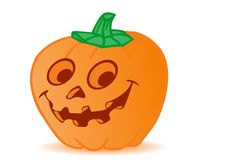 Vector pumpkin by a holiday halloween Stock Images