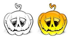 Vector pumpkins Stock Photos