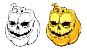Vector pumpkins Stock Image