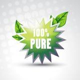 Vector pure symbol Stock Image