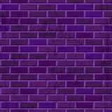 Vector Purple Brick Wall Seamless Texture. Abstract Architecture And Loft Interior Violet Background Stock Photo