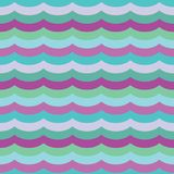 Vector Purple Cool Waves Seamless Pattern Background vector illustration