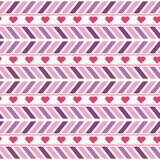 Vector purple and pink chevron seamless pattern vector illustration