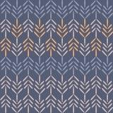 Vector Purple Woodland Chevron Seamless Pattern Background. vector illustration