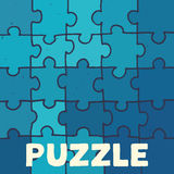 Vector puzzle background Stock Images